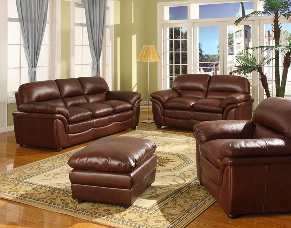 New Modern Verona Bonded Leather Sofa Suite in Black, Brown, Cream ...